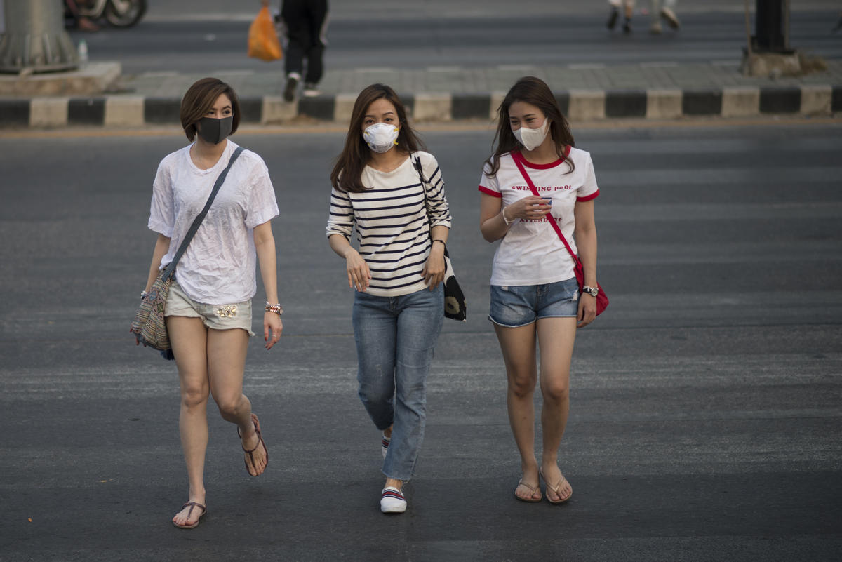 Air Pollution in Chiang Mai (March 2019). © Vincenzo Floramo / Greenpeace