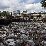 Plastic Waste in Bangkok's Canals. © Chanklang  Kanthong / Greenpeace