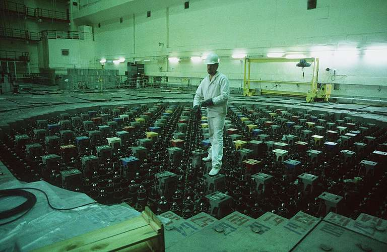 Second Reactor of Chernobyl Nuclear Plant. © Clive Shirley / Signum / Greenpeace