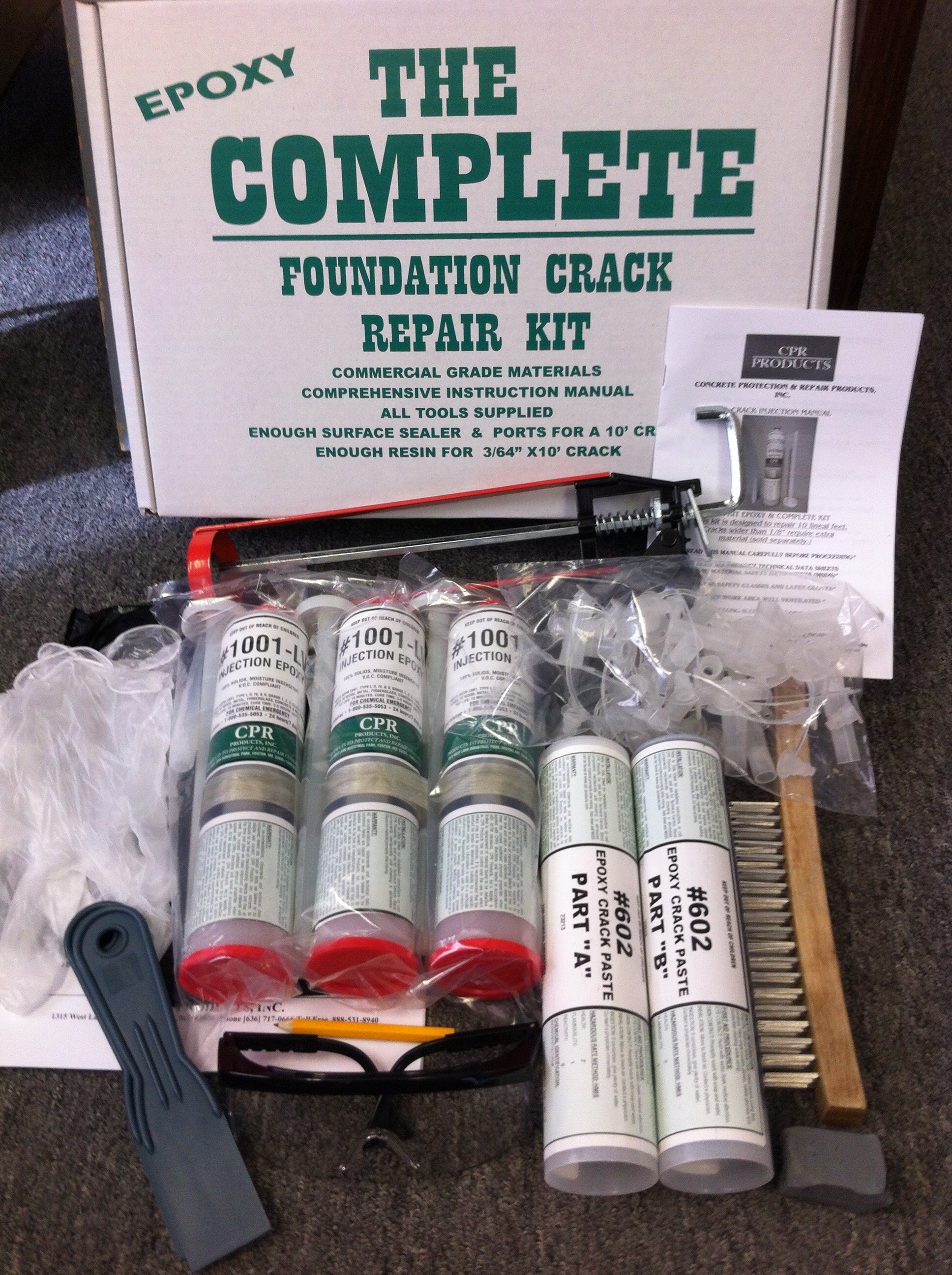 Complete Epoxy Kit