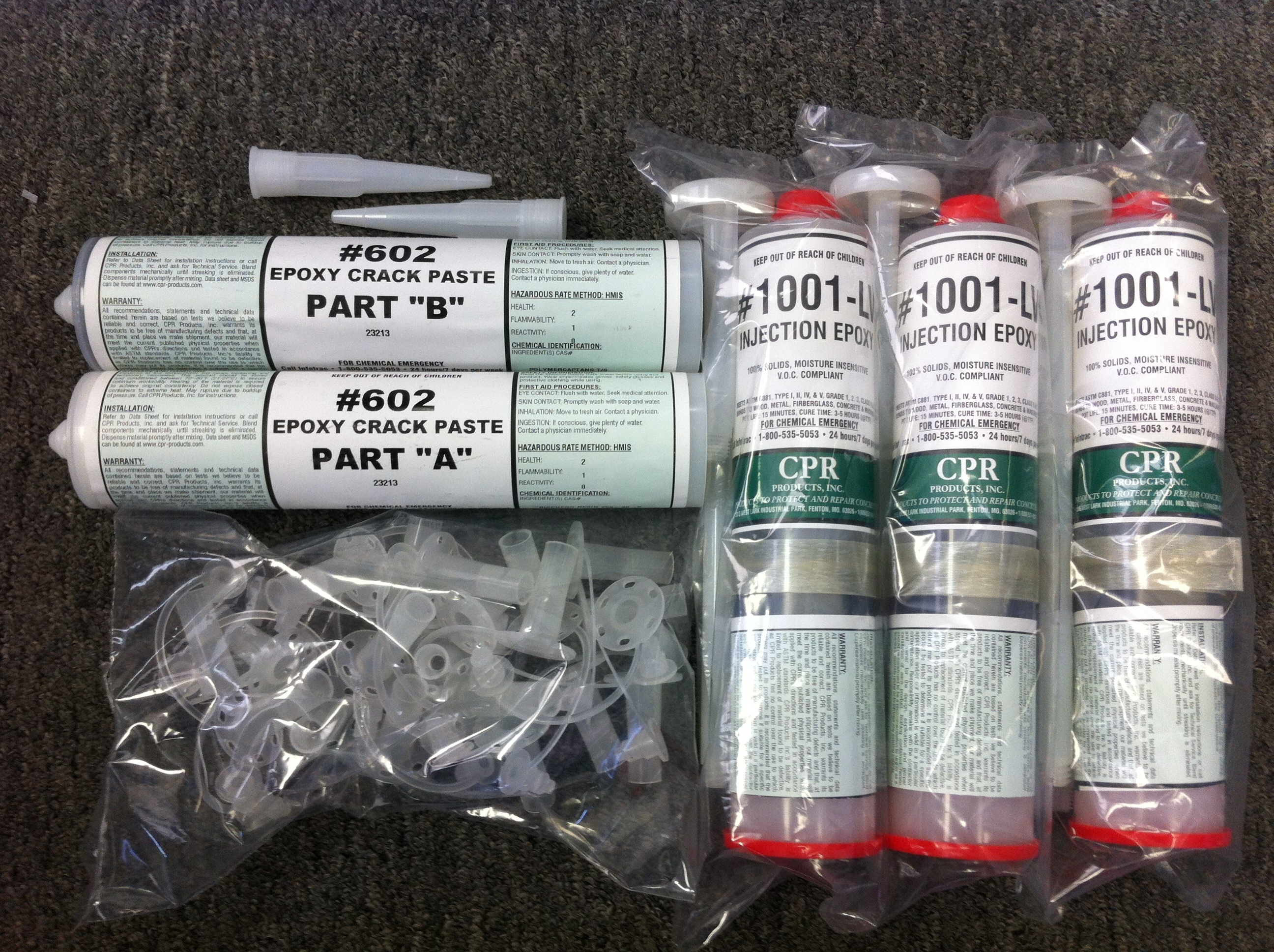 Epoxy Replacement Kit (Material Only)