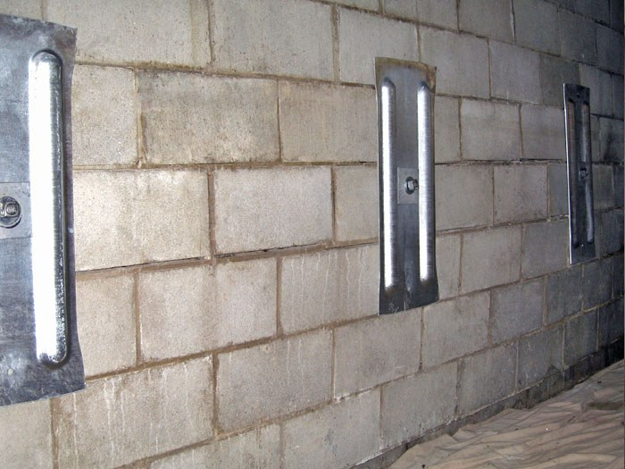 Installed Wall Anchor Systems