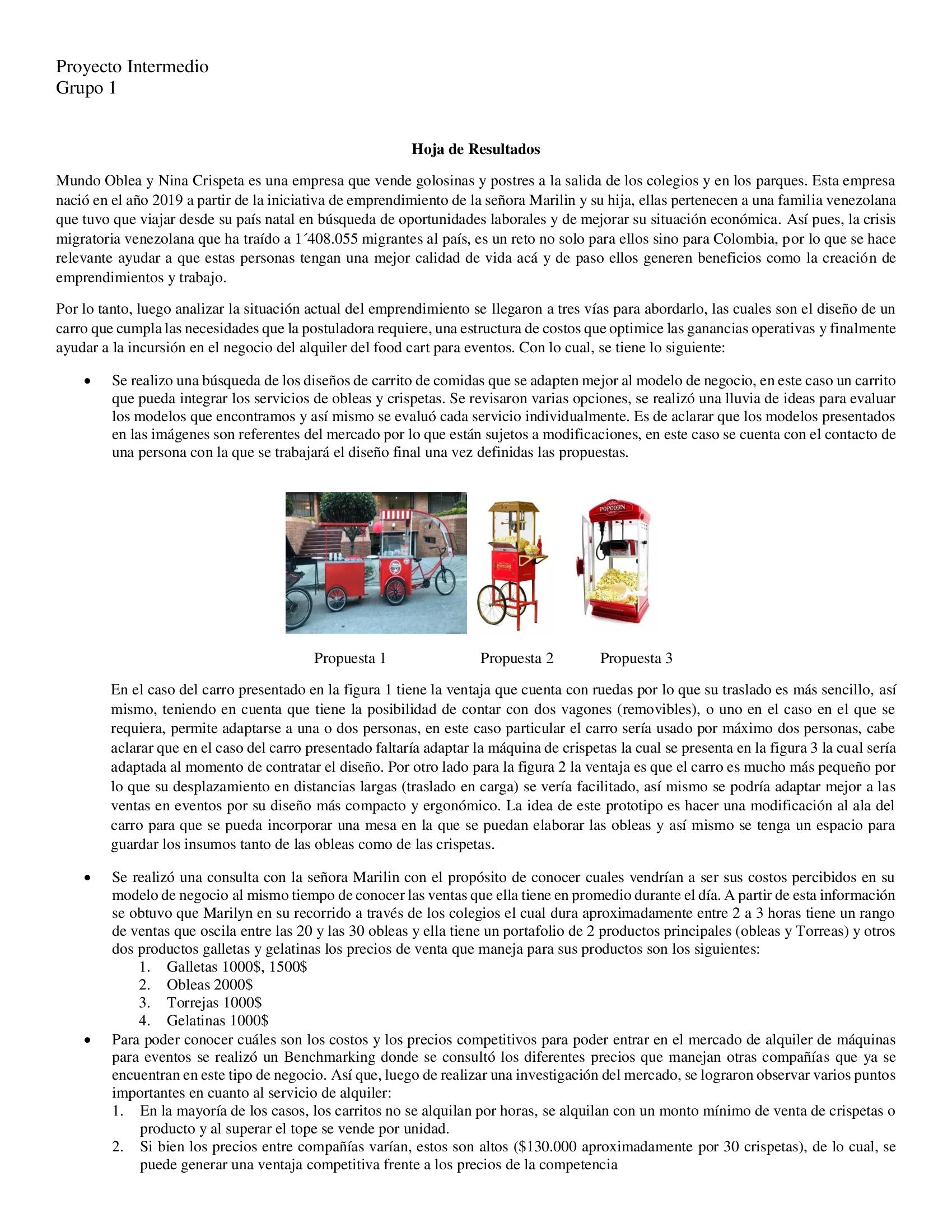 Hoja de resumen Mundo Oblea y Nina Crispeta 2020-I