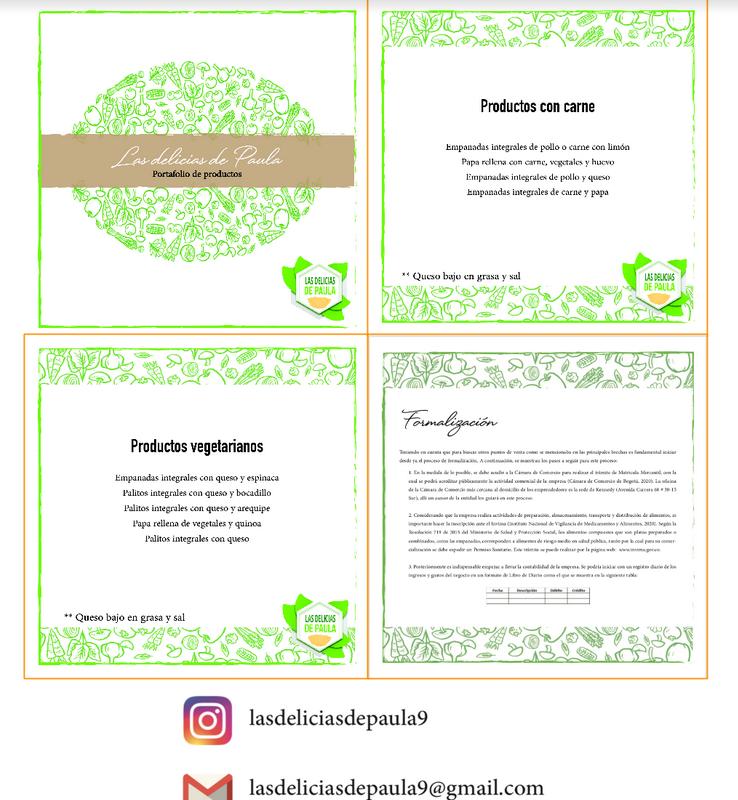 Hoja de resumen Las Delicias de Paula 2020-I