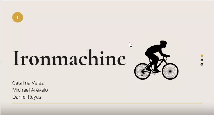 Hoja de resumen Iron Machine 2021-I