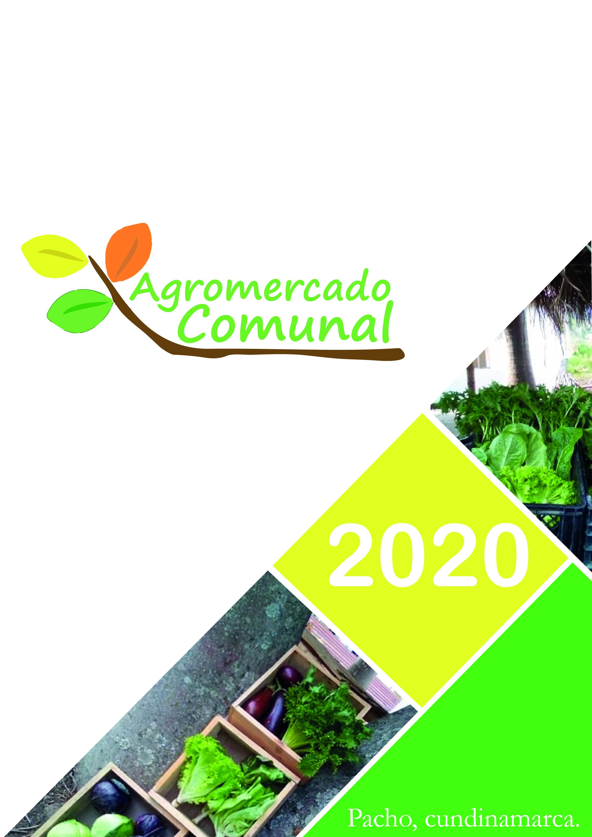 Hoja de resumen Agromercado Comunal 2020-I