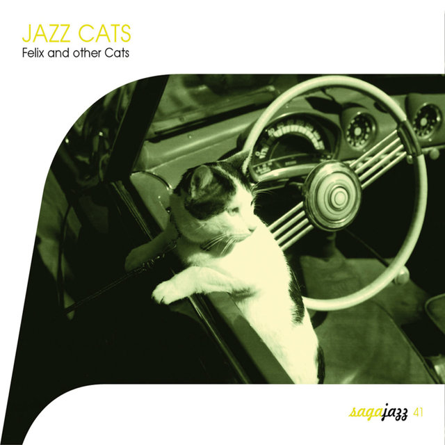 Couverture de Saga Jazz: Jazz Cats (Felix and Other Cats)