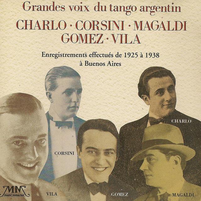 Grandes voix du tango argentin