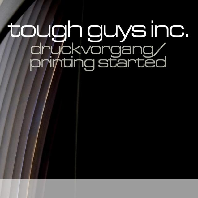 Druckvorgang / Printing Started