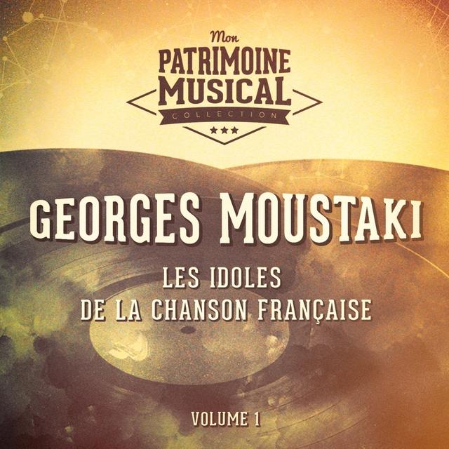 Couverture de Les idoles de la chanson française : georges moustaki, vol. 1