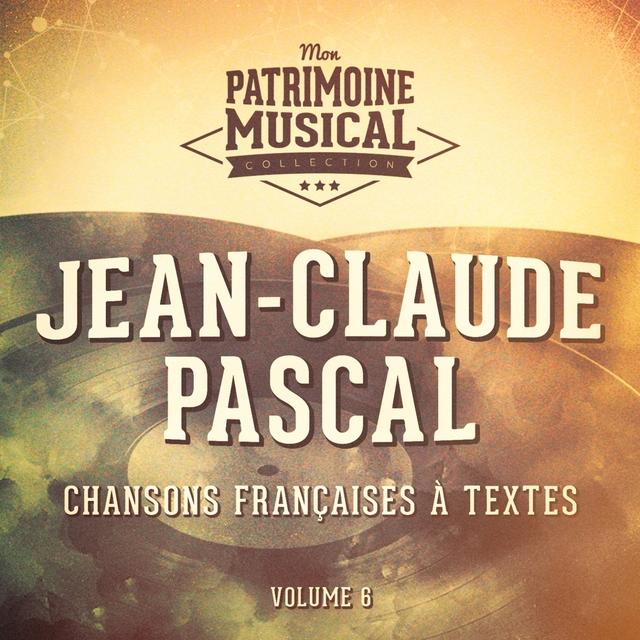 Couverture de Chansons françaises à textes : jean-claude pascal, vol. 6