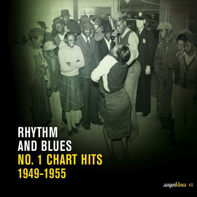 "Saga Blues: Rhythm and Blues ""No. 1 Chart Hits 1949-1955"""