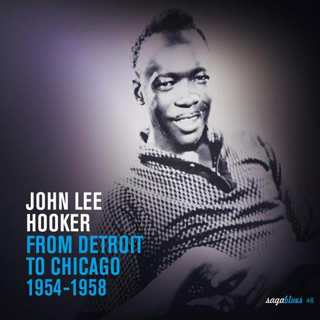 Couverture de Saga Blues: From Detroit to Chicago 1954-1958