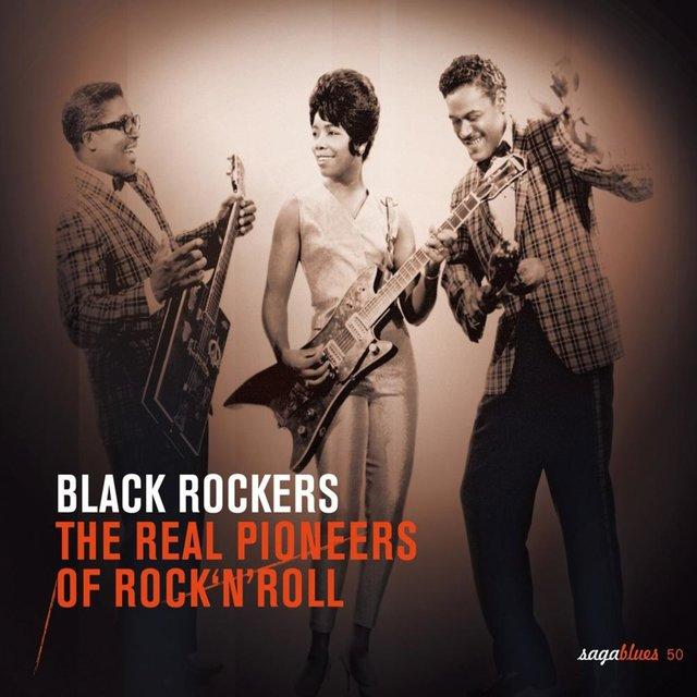 "Couverture de Saga Blues: Black Rockers ""The Real Pioneers of Rock'n'Roll"""