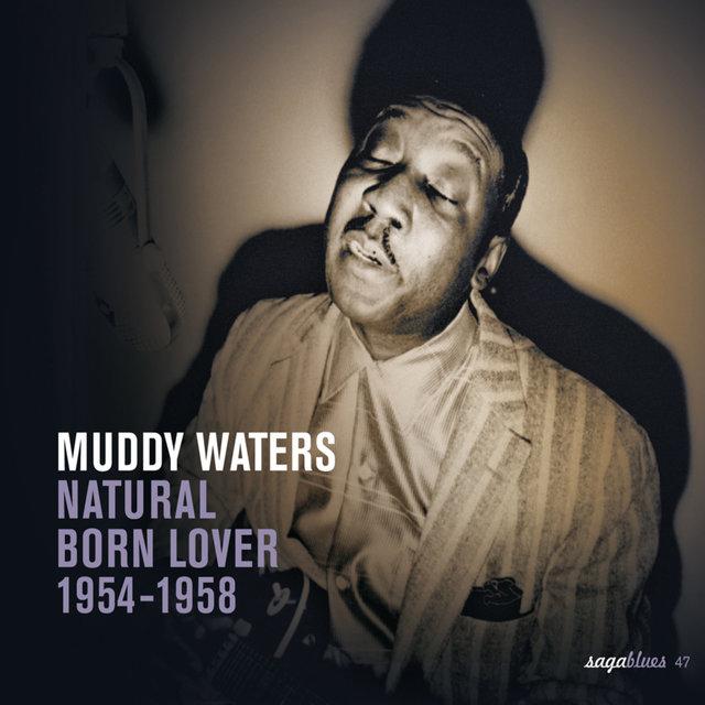 Couverture de Saga Blues: Natural Born Lover 1954-1958