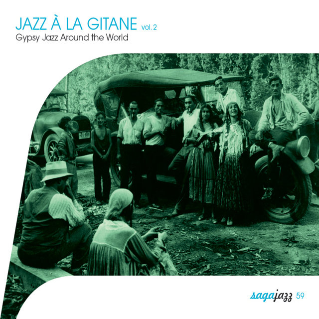 Couverture de Saga Jazz: Jazz à la gitane, Vol. 2 (Gypsy Jazz Around the World)