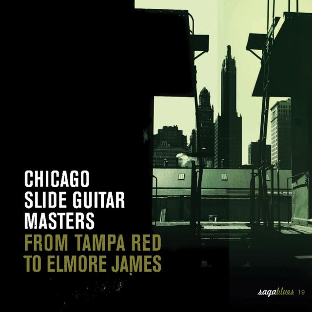 """Saga Blues: Chicago Slide Guitar Masters """"From Tampa Red to Elmore James"""""""