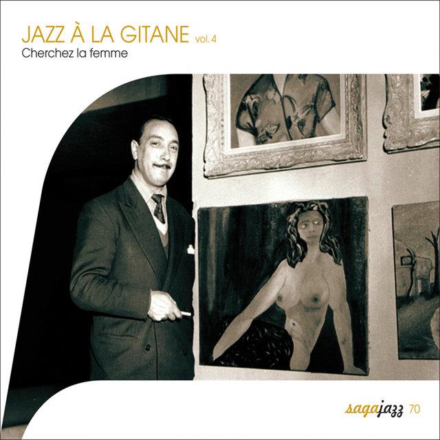 Couverture de Saga Jazz: Jazz à la gitane, Vol. 4 (Cherchez la femme !)
