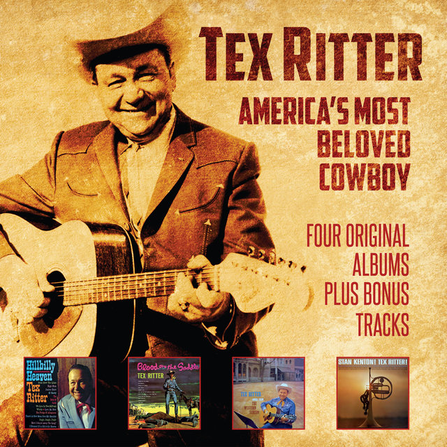 Couverture de America's Most Beloved Cowboy: Four Original Albums Plus Bonus Tracks