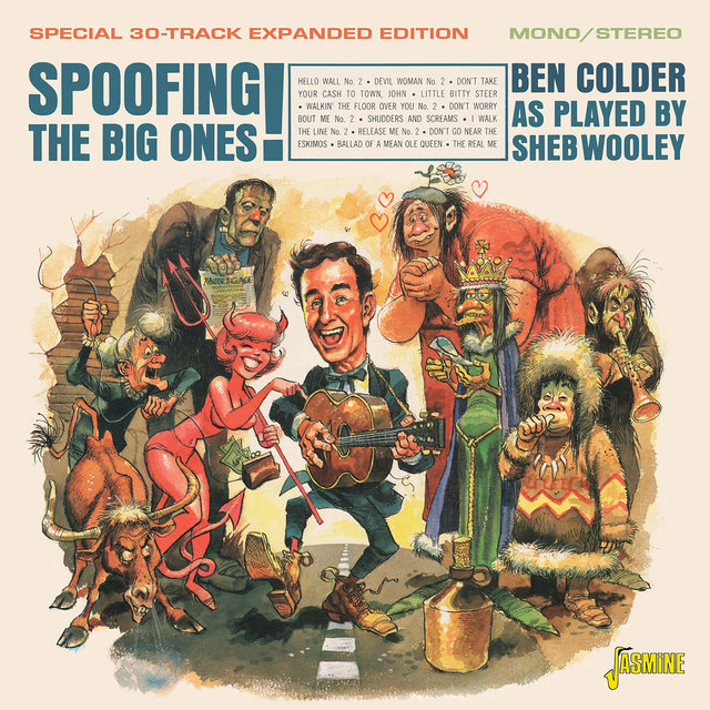 Spoofing the Big Ones!: Ben Colder as Played by Sheb Wooley