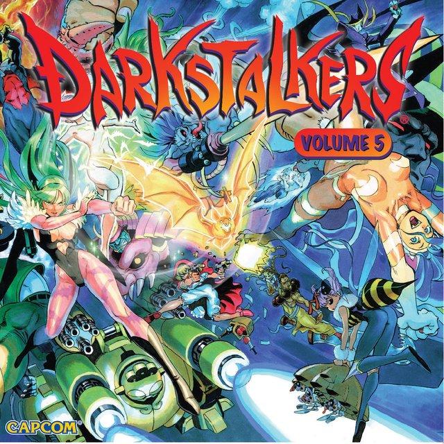Couverture de Darkstalkers, Vol. 5 (Original Game Soundtrack)