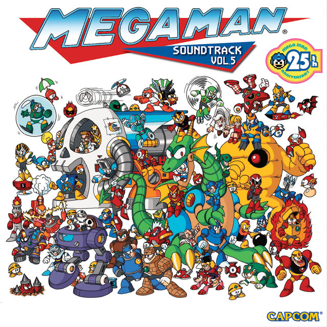 Mega Man, Vol. 5 (25th Anniversary) [Original Game Soundtrack]