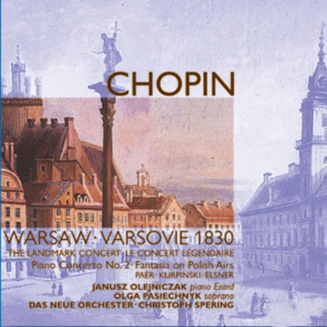 1830 Warsaw Concert: Works by Chopin, Kurpinski, Paër & Elsner