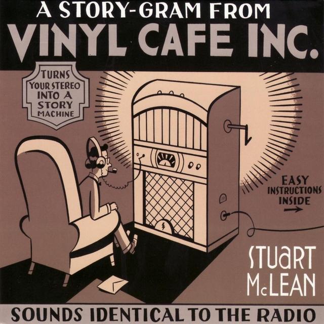 Couverture de A Story-Gram from Vinyl Cafe Inc.