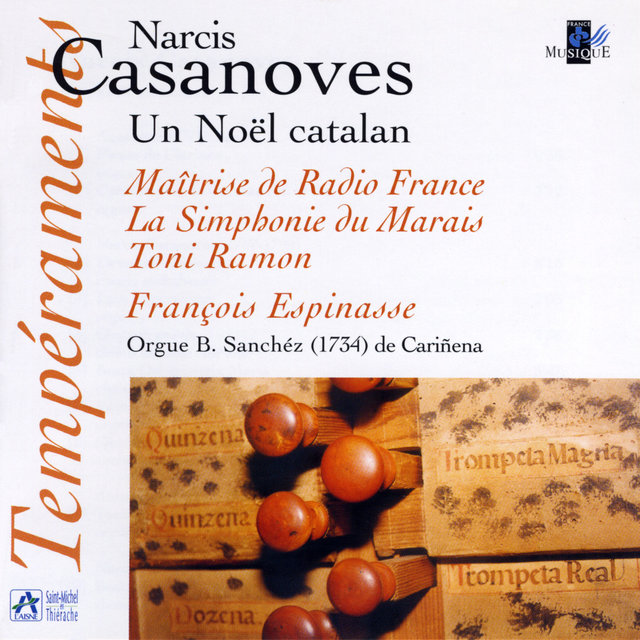 Couverture de Casanoves: Un Noël catalan (Orgue B. Sanchéz de Cariñena, Aragon)