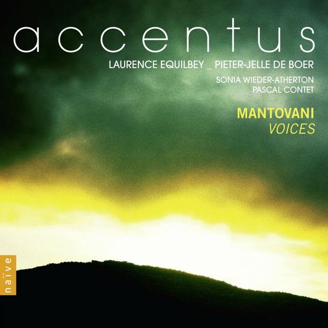Couverture de Mantovani: Voices