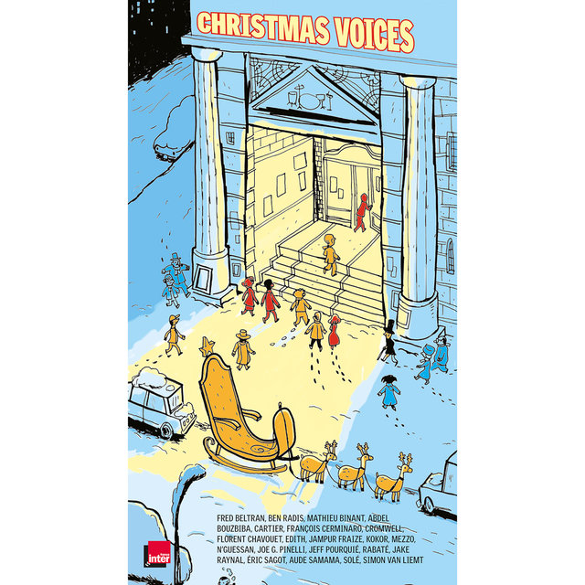 Couverture de BD Music Presents Christmas Voices