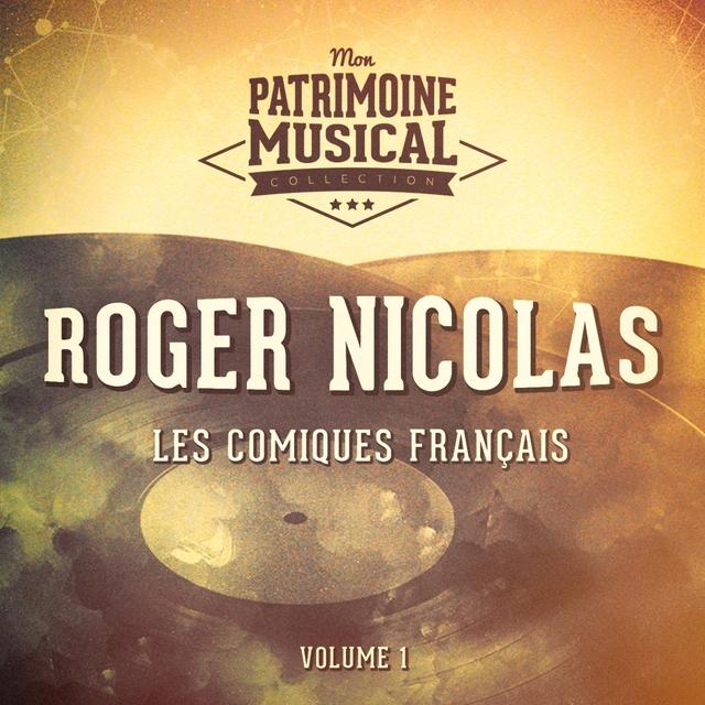 Couverture de Les comiques français : Roger Nicolas, Vol. 1