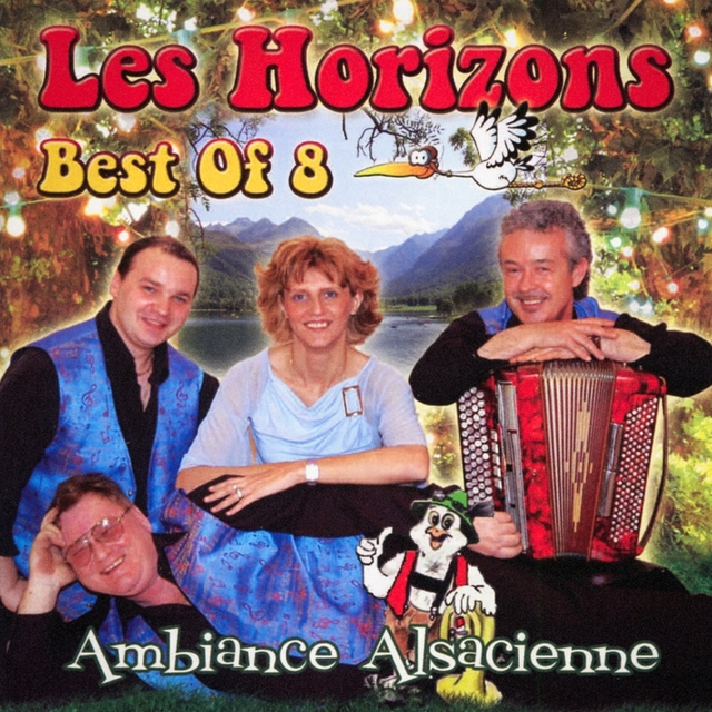 Best of Les Horizons, Vol. 8 : Ambiance alsacienne