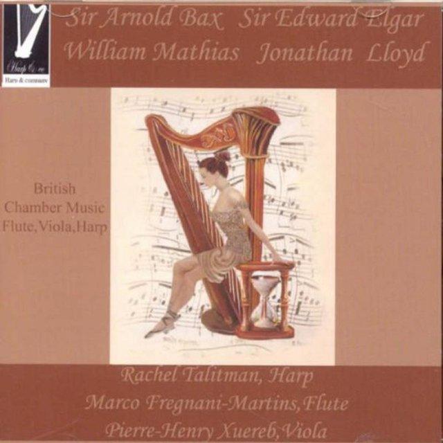 British Chamber Music for Flute, Viola and Harp