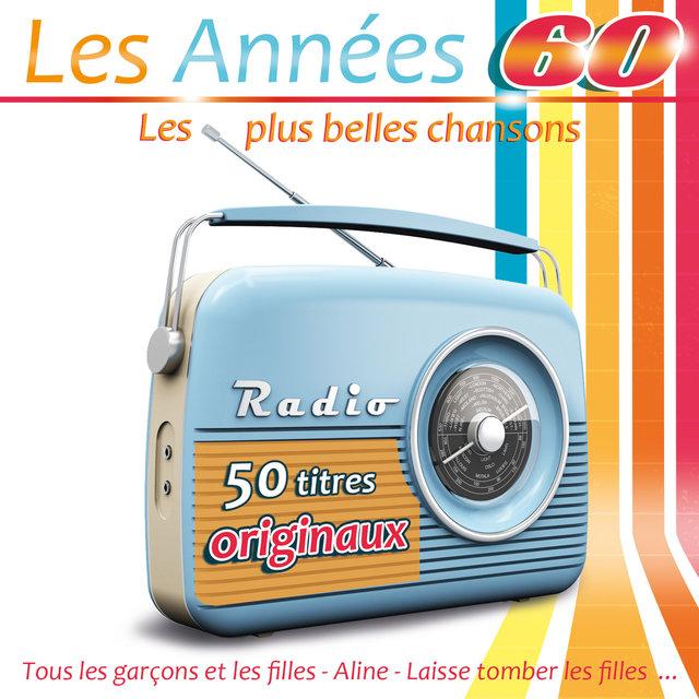 Couverture de Les années 60: Les plus belles chansons (50 titres originaux)