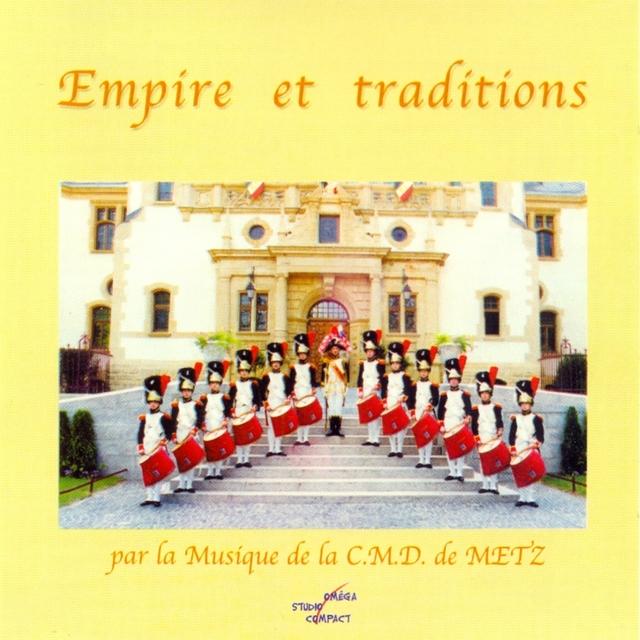 Couverture de Empire et traditions