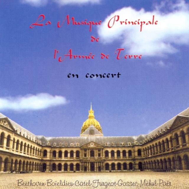 Couverture de La musique principale de l'armée de terre en concert