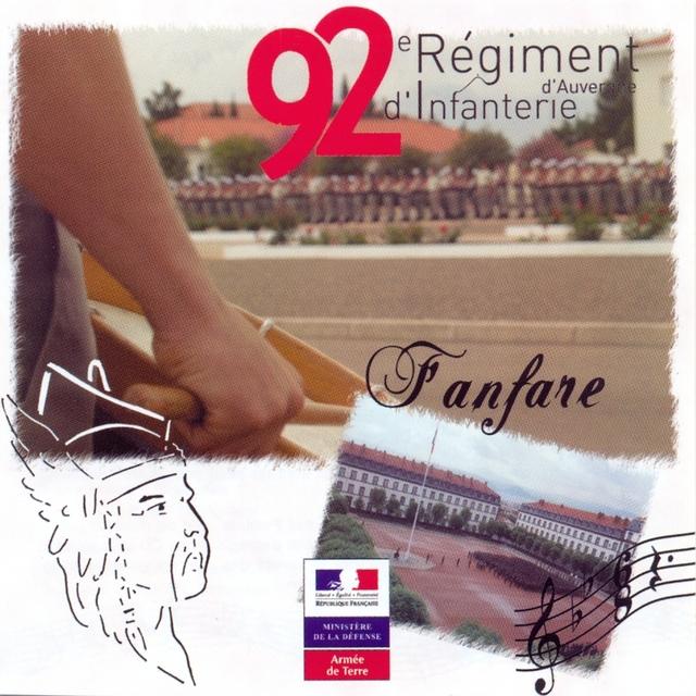 La fanfare du régiment d'auvergne