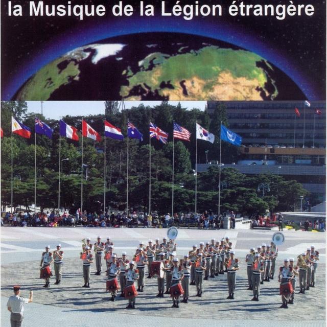 La musique de le légion étrangère autour du monde