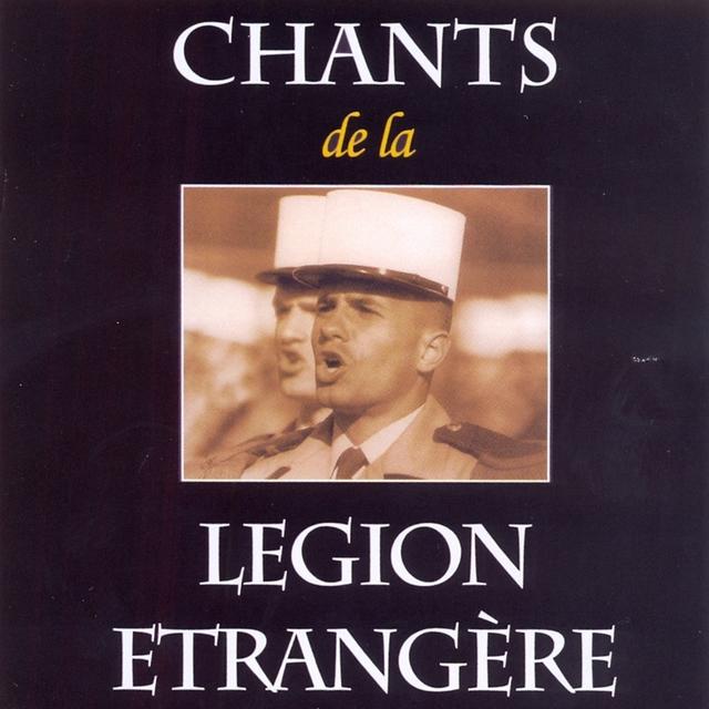 Couverture de Chant de la legion etrangere
