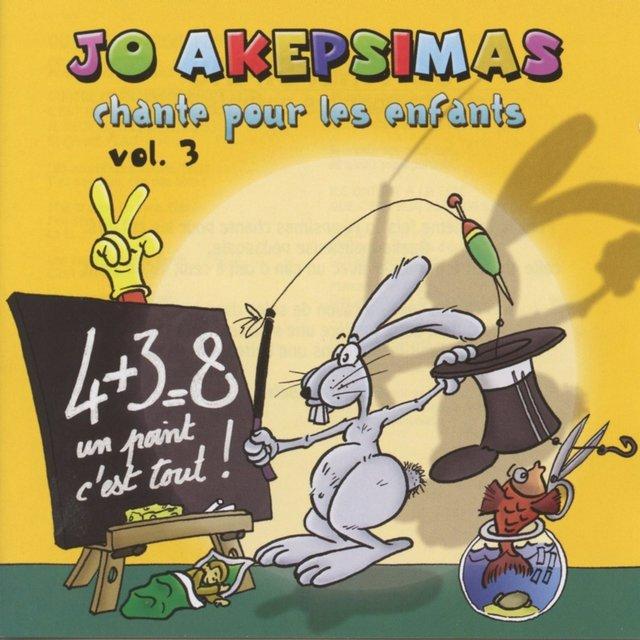 Jo Akepsimas chante pour les enfants, Vol. 3