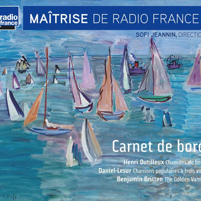 Couverture de Dutilleux, Daniel-Lesur & Britten: Carnet de bord