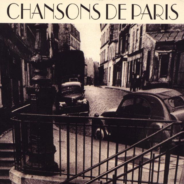 Couverture de Chansons de Paris