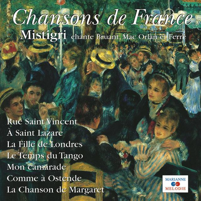 """Chante Bruant, Mac Orlan et Ferré (Collection """"Chanson de France"""")"""