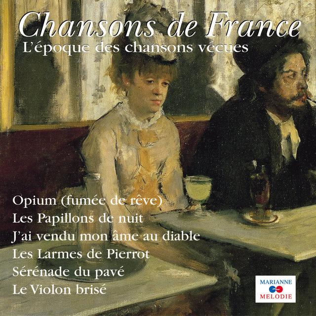 """Couverture de L'époque des chansons vécues (Collection """"Chansons de France"""")"""