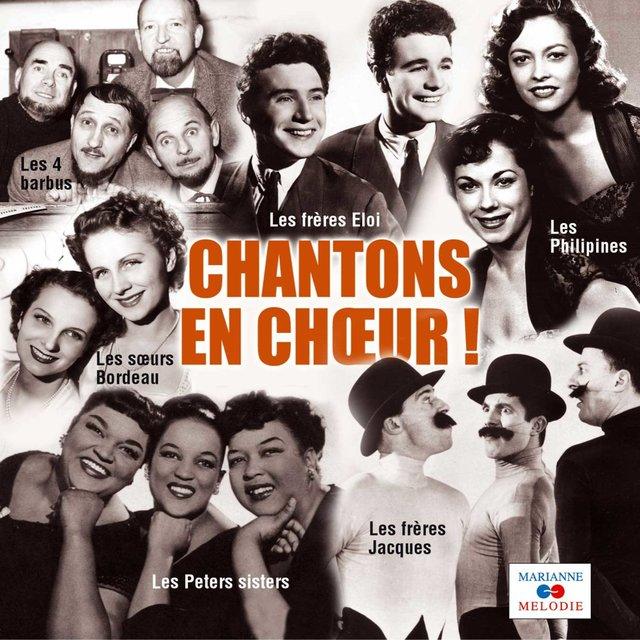 Couverture de Chantons en chœur, Vol. 1