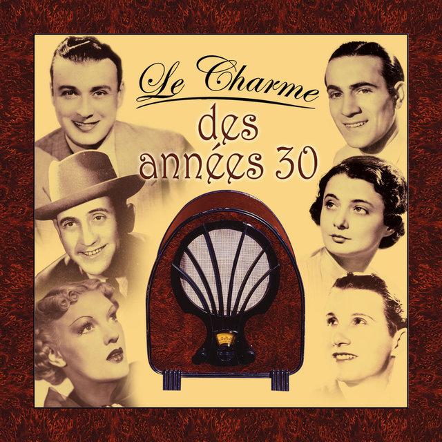 Couverture de Le charme des années 30