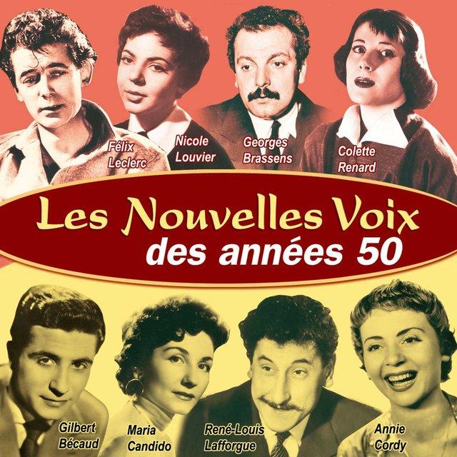 Couverture de Les nouvelles voix des années 50