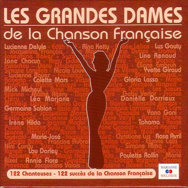 Couverture de Les grandes dames de la chanson française