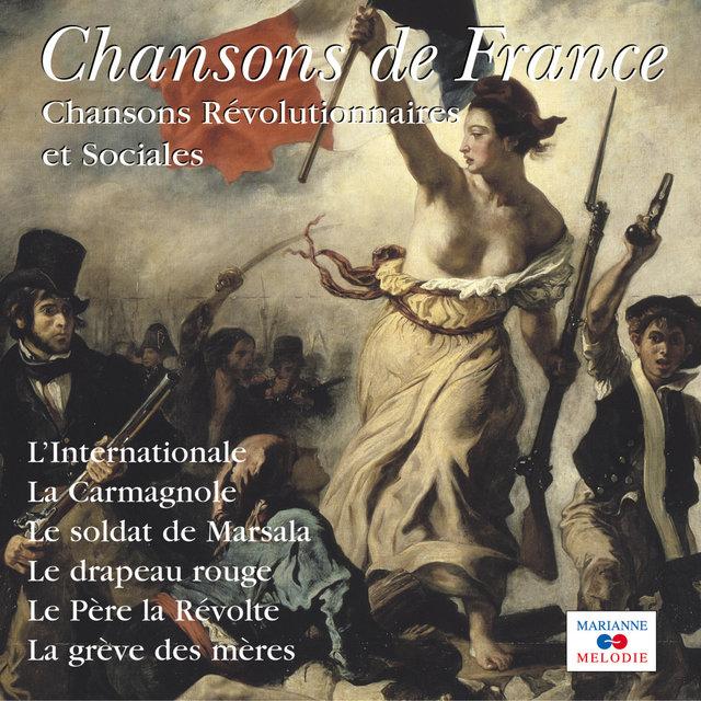 """Couverture de Chansons révolutionnaires et sociales (Collection """"Chansons de France"""")"""